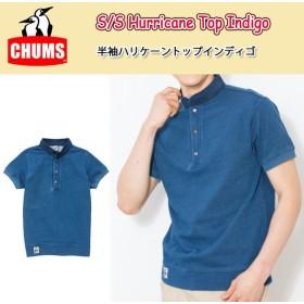 チャムス chums Tシャツ S/S Hurricane Top Indigo 半袖ハリケーントップインディゴ CH00-1065 メンズ 【服】