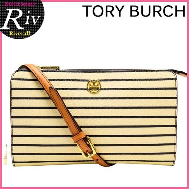 トリーバーチ TORY BURCH ショルダーバッグ 斜めがけ ストライプ 新作 TORY BURCH 12149157 アウトレット レディース キャッシュレスで全品6%還元