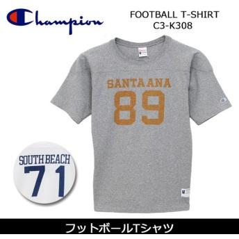 Champion/チャンピオン フットボールTシャツ FOOTBALL T-SHIRT C3-K308 【服】Tシャツ メンズ ロチェスター
