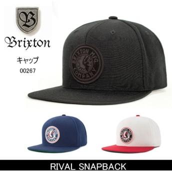 ブリクストン BRIXTON RIVAL SNAPBACK /00267 【帽子】 キャップ 帽子 ストリート アウトドア 秋冬物