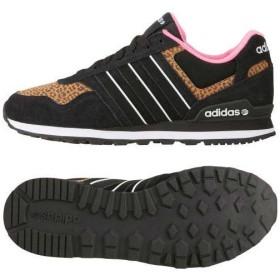 (セール)adidas(アディダス)シューズ カジュアル シューズ RUNEO 10K W GAH01 F38593 レディース BLACK/BLACK