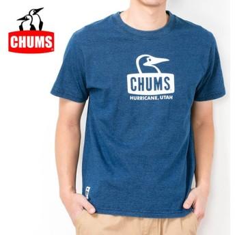 チャムス chums Tシャツ Booby Face T-Shirt Indigo ブービーフェイスTシャツインディゴ CH01-1338 メンズ 正規品【服】【t-cnr】【メール便発送・代引き不可】