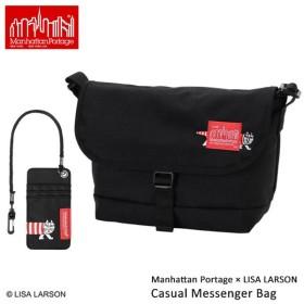 正規品 限定 マンハッタンポーテージ ManhattanPortage メッセンジャーバッグ Manhattan Portage×LISA LARSON Casual Messenger Bag S