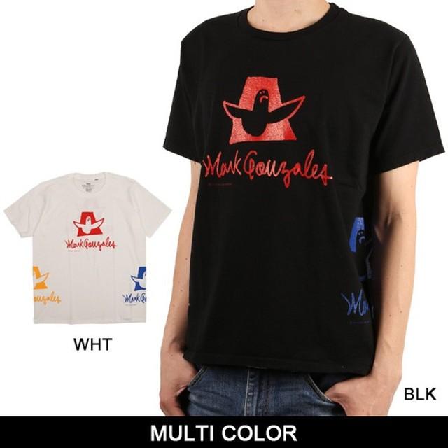MARK GONZALES マークゴンザレス Tシャツ MULTI COLOR 【服】【t-cnr】 トップス ファッション フェス アウトドア【メール便・代引不可】