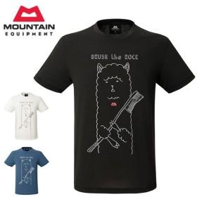 MOUNTAIN EQUIPMENT/マウンテン イクイップメント Tシャツ BRITPOP TEE BRUSH THE ROCK ブリットポップティー BRUSH THE ROCK 425712 【服】【t-cnr】メンズ