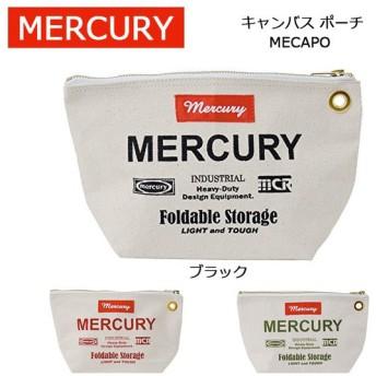 MERCURY マーキュリー キャンバス ポーチ MECAPO 【雑貨】 アメリカン雑貨 収納 鞄 ポーチ おしゃれ 小物