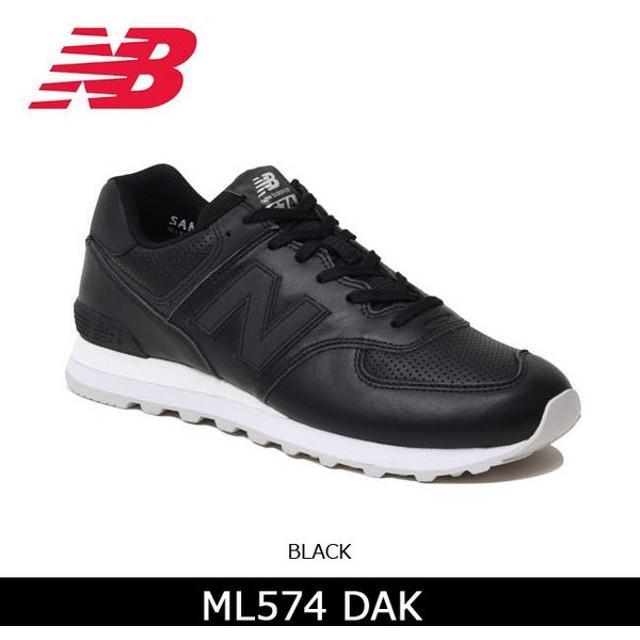ニューバランス new balance スニーカー ML574DAK BLACK 【靴】メンズ レディース 日本正規品