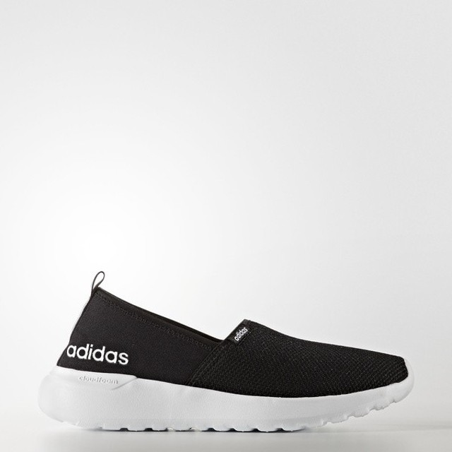 (セール)adidas(アディダス)シューズ カジュアル CLOUDFOAM LIGHT SLIPON W CFR28 AW4083 レディース コアブラック/コアブラック/ランニングホワイト