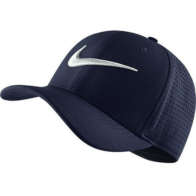 (セール)NIKE(ナイキ)スポーツアクセサリー 帽子 ナイキ トレーニング ベイパー スウッシュ フレックス キャップ 803933-451 オブシディアン/オブシデ...