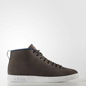 (セール)adidas(アディダス)シューズ カジュアル VALCLEAN2 MID WTR CFV44 BB9897 メンズ ダークブラウン/ダークブラウン/カレッジネイビー