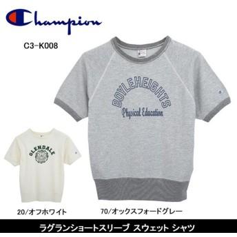 Champion/チャンピオン シャツ ラグランショートスリーブ スウェット シャツ C3-K008 【服】チャンピオン メンズ