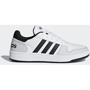 (セール)adidas(アディダス)シューズ カジュアル ADIHOOPS 2.0 FBQ70 DB0116 ランニングホワイト/コアブラック/グレーワンF17