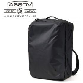AS2OV/アッソブ  TRAVEL SERIES TRAVEL CASE 3WAY 061800 【トラベルバック バックパック 旅行 日本正規品】