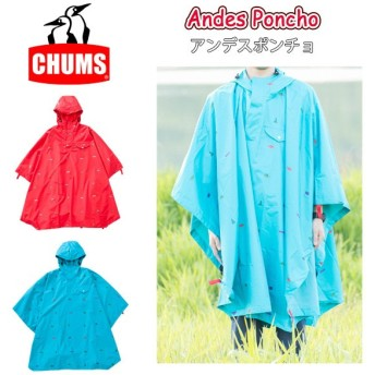chums チャムス Andes Poncho CH04-1023