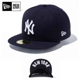 【メーカー取次】 NEW ERA ニューエラ 59FIFTY UNDERVISOR ニューヨーク・ヤンキース ネイビー×ホワイト NEW YORK 11434020 キャップ ブランド