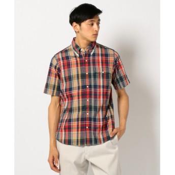 J.PRESS / ジェイプレス スーパーマドラスチェック シャツ
