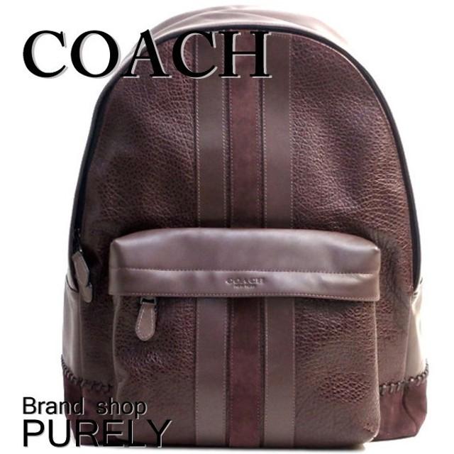 64d27ccac786 COACH コーチ ベースボール ステッチ バックパック メンズ レザー F11250 ...