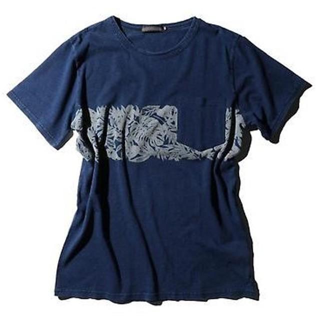 ROSE BUD / ローズ バッド リーフプリント半袖Tシャツ