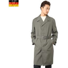 実物 新品 東ドイツ軍ステンカラーコート ミリタリー アウター ロングコート ビジネスコート デッドストック