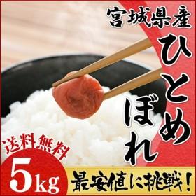 お米 5キロ 宮城県産 ひとめぼれ 5kg 米 ごはん うるち米 精白米