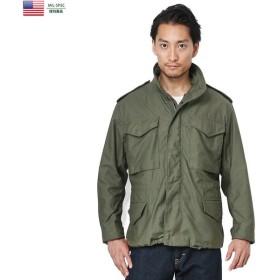新品 米軍仕様 MADE IN USA M-65フィールドジャケット メンズ ミリタリー アウター ブルゾン ジャンバー デッドストック【クーポン対象外】