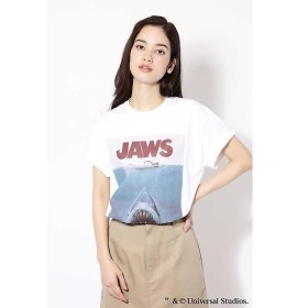 ROSE BUD / ローズ バッド ◆ROSEBUD別注◆JAWSプリントTシャツ