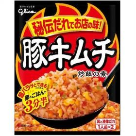 グリコ 豚キムチ 炒飯の素 1人前×2