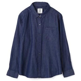 PROPORTION BODY DRESSING / プロポーションボディドレッシング 《BLANCHIC》ダンガリーシャツ