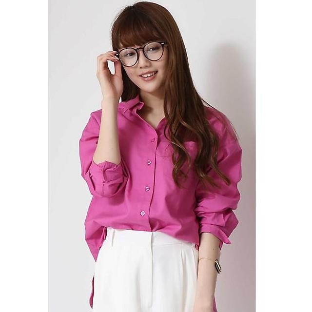 N.Natural Beauty Basic / エヌ ナチュラルビューティーベーシック 麻ビッグシャツ