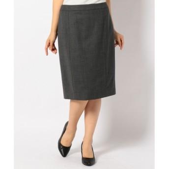 S size ONWARD(小さいサイズ) / エスサイズオンワード ファインウールサキソニーストレッチ スカート