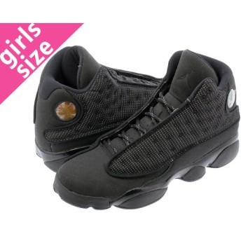 NIKE AIR JORDAN 13 RETRO BG 【BLACK CAT】 ナイキ エア ジョーダン 13 レトロ BG BLACK/BLACK/ANTHRACITE
