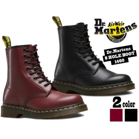 ドクターマーチン 8ホール ブーツ Dr.Martens 8HOLE BOOT 1460 BLACK (11822006)/ CHERRY (11822600)