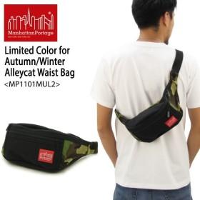 f852622f9897 マンハッタン ポーテージ Manhattan Portage Limited Color for Autumn Winter Alleycat  Waist Bag MP1101MUL2 ウェストバッグ XS