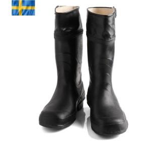 STUTTERHEIM ストゥッテルハイム スウェーデン軍モデル メンズ レインブーツ 長靴 ロングブーツ ミリタリー ラバーブーツ