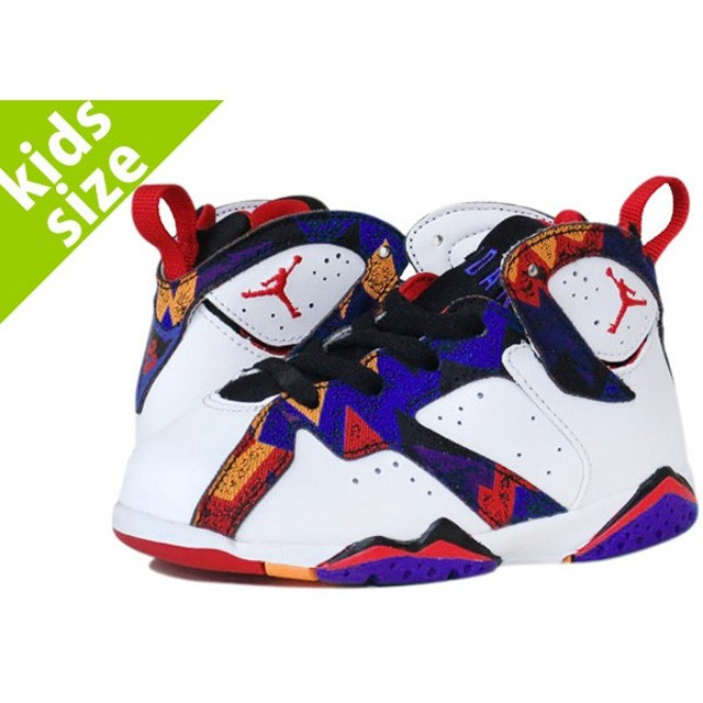NIKE AIR JORDAN 7 RETRO TD SWEATER ナイキ エア ジョーダン 7 レトロ TD WHITE/BLUE/RED/CONCORD