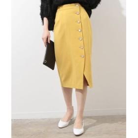 ROPE' / ロペ サイドボタンムジタイトスカート