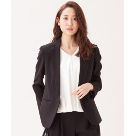 S size ONWARD(小さいサイズ) / エスサイズオンワード 【洗えるスーツ】トリアセダブルジョーゼット ジャケット