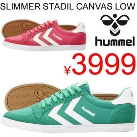 メンズ スニーカー  シューズ 靴/ヒュンメル Hummel/SLIMMER STADIL LOW CANNVAS/HM63736