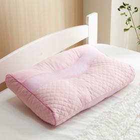 枕 やわらかい感触の枕粒わた高さ調整 約30×45×5