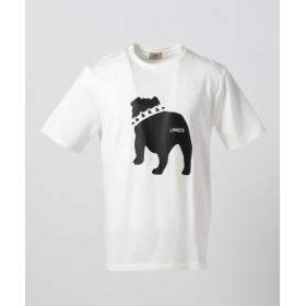J.PRESS / ジェイプレス ブルドッグプリント Tシャツ