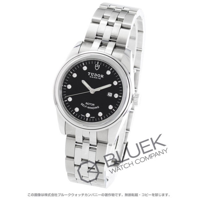0e446477c1 チューダー グラマー デイト ダイヤ 腕時計 レディース TUDOR 53000 通販 ...