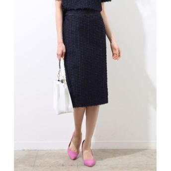 ROPE' / ロペ 【セットアップ対応】ジャガードタイトスカート