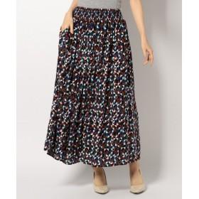 any FAM / エニィファム ジオメトリックPT スカート