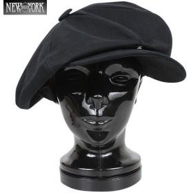 New York Hat ニューヨークハット #6226 キャンバス ビッグアップル(キャスケット) ブラック [6226] キャスケット ジョンレノンも愛用したモデル ブランド