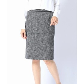 COMME CA ISM / コムサイズム ツイード・タイトスカート(セットアップ対応商品)