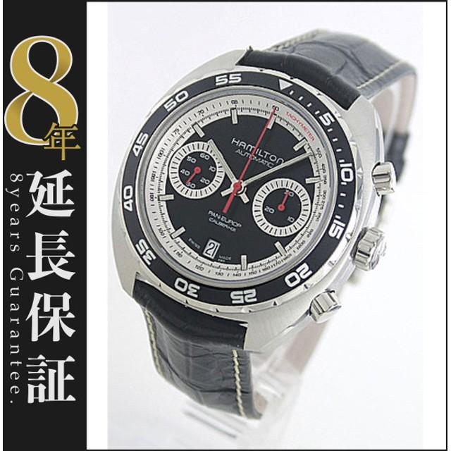 ハミルトン パン ユーロ クロノグラフ 腕時計 メンズ HAMILTON H35756735_8
