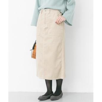 URBAN RESEARCH / アーバンリサーチ カラーコーデュロイタイトスカート