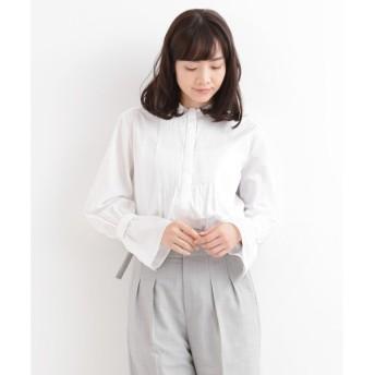 NIMES / ニーム High Count Poplin ピンタックシャツ