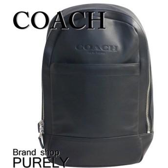 全品ポイント2倍 コーチ COACH バッグ ショルダーバッグ メンズ レザー スリム リュック F54135 BLK ブラック