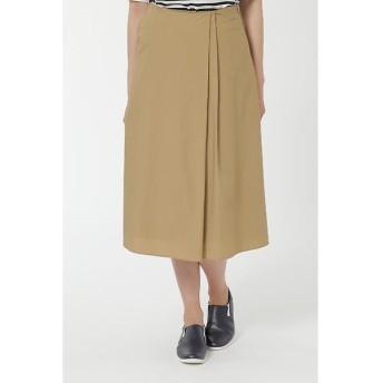 HUMAN WOMAN / ヒューマンウーマン ハイカウントタイプライタースカート